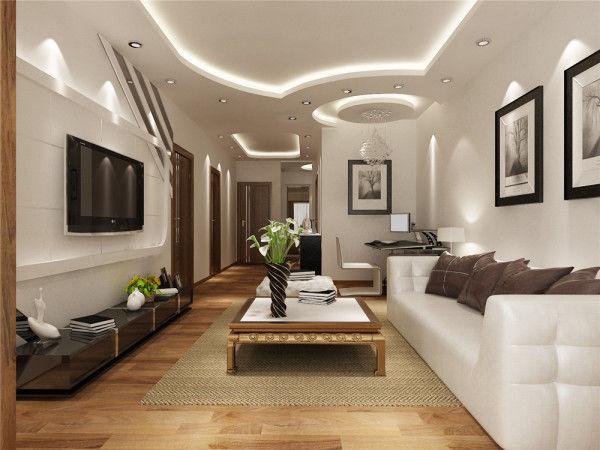现代 简约 经济 实用 二房 客厅图片来自383952120x在经济、实用两房装修设计赏析的分享