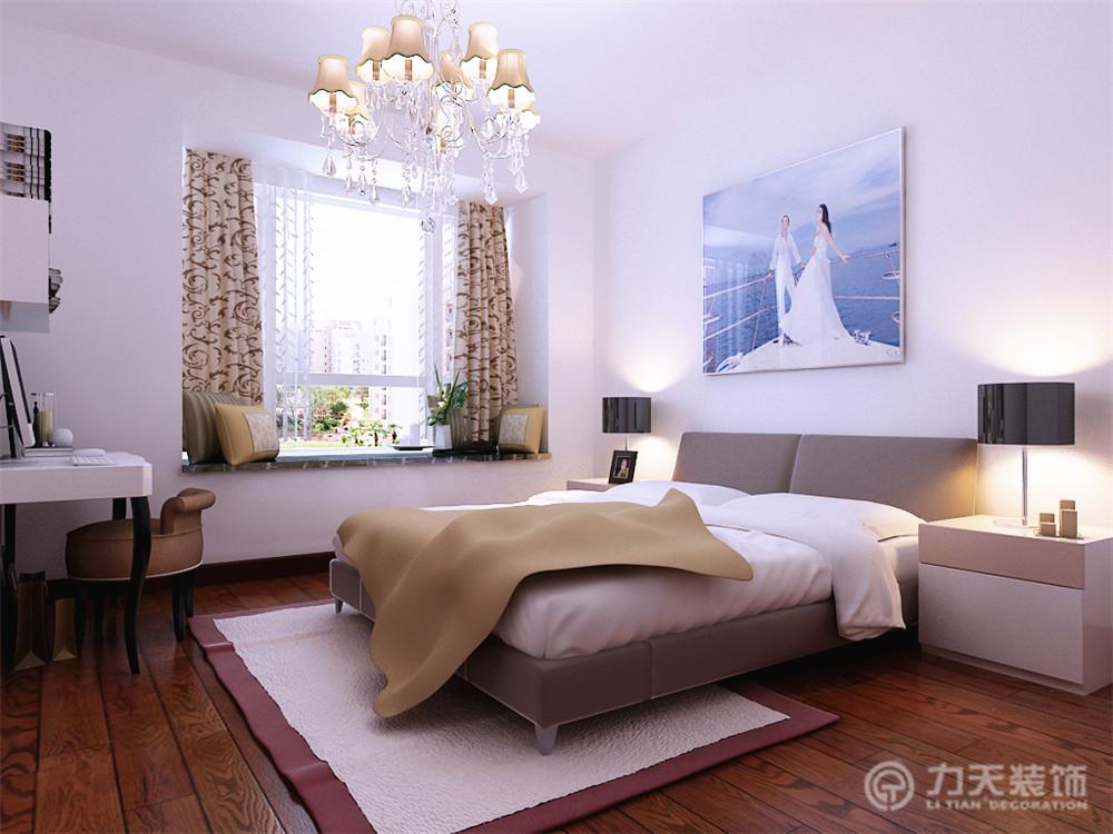 简约 三居 收纳 白领 80后 小资 卧室图片来自阳光力天装饰在保利玫瑰湾-100㎡-现代简约的分享