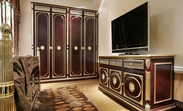 欧式 别墅 收纳 卧室图片来自bjsdgjzs在北京龙湖香醍溪岸别墅的分享