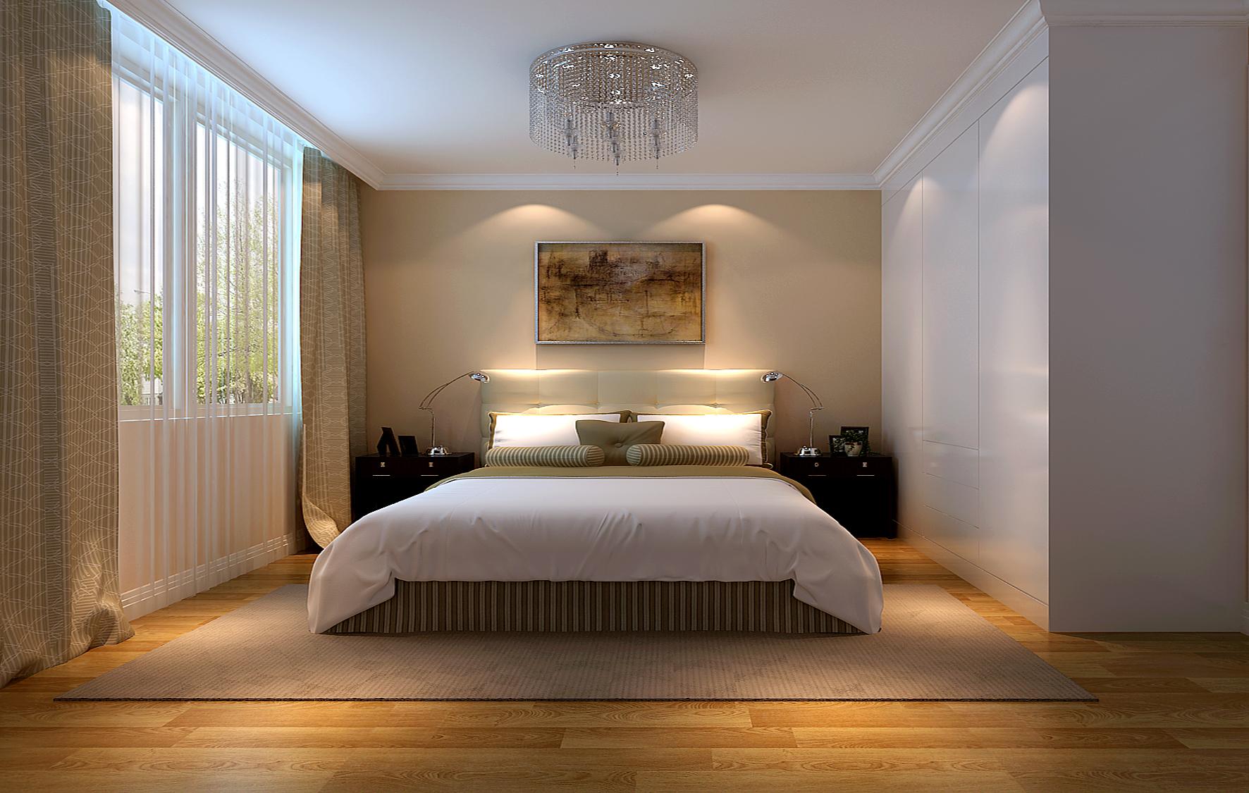 现代 简约 三居 白领 80后 小资 卧室图片来自沙漠雪雨在金谷香俊 5万打造现代简约三居的分享
