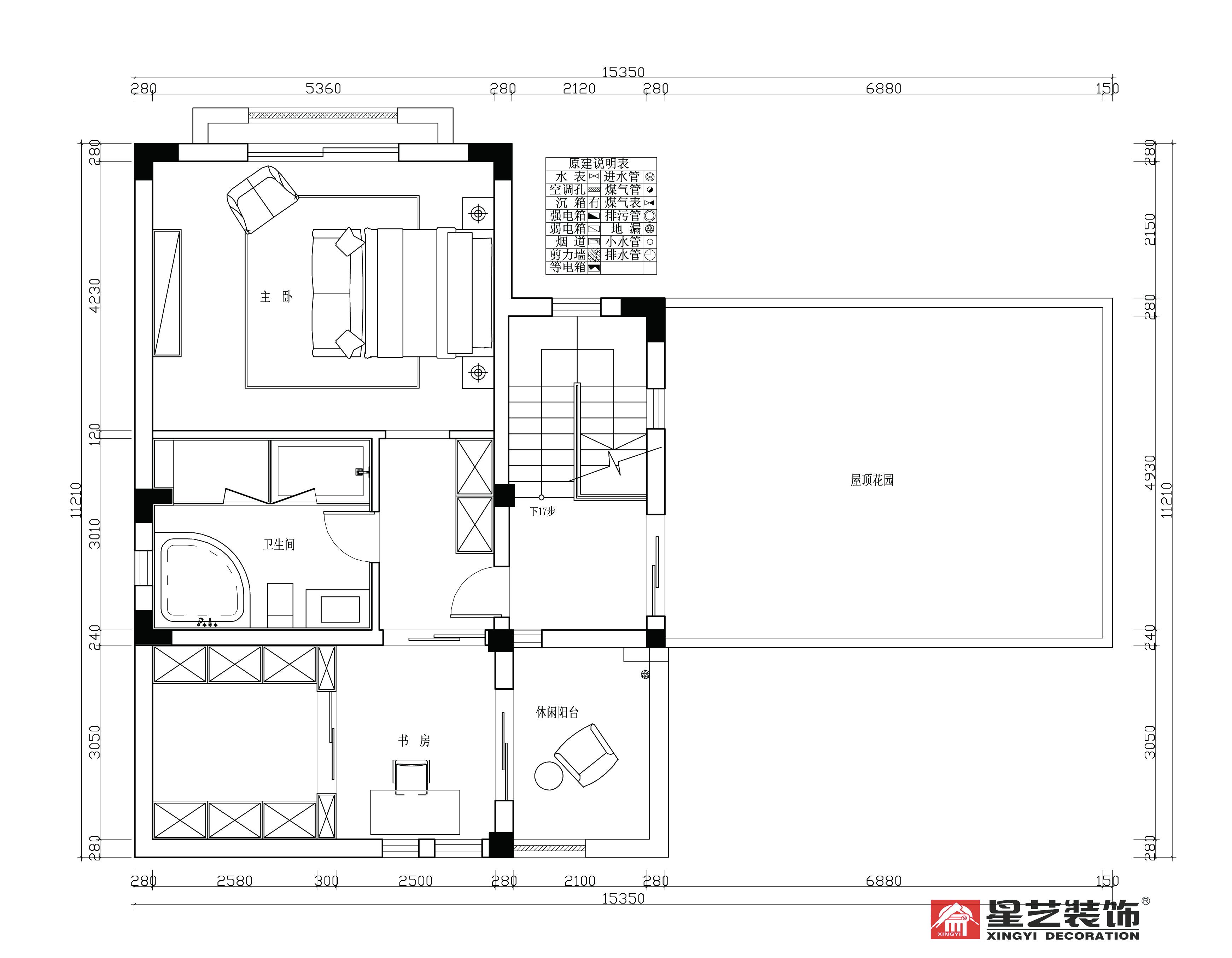 别墅 中式 星艺装饰 新古典 户型图图片来自星艺装饰在贵州在星艺装饰·别墅设计的分享