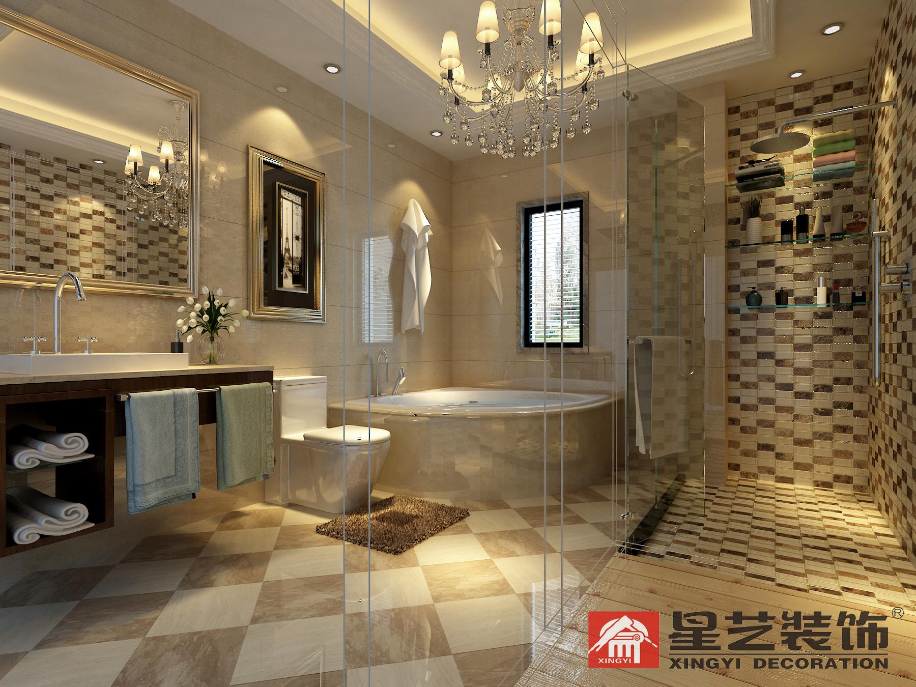 别墅 中式 星艺装饰 新古典 卫生间图片来自星艺装饰在贵州在星艺装饰·别墅设计的分享