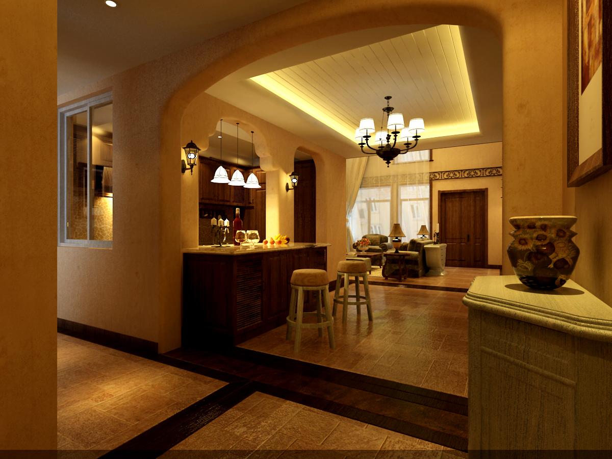 餐厅图片来自潍坊万泰装饰在地中海温情别墅的分享