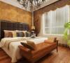 次卧卧室设计理念:卧室是主人待的最久的空间之一,舒适颜色搭配符合客户审美的家具足矣。 亮点:舒服的床头背景,柔软、大气集一身,卧室要的就是舒适、整洁。