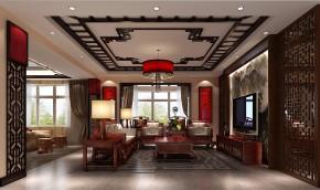 金色漫香苑 高度国际 三居 白领 80后 中式 白富美 高富帅 时尚 客厅图片来自北京高度国际装饰设计在7万打造金色漫香苑中式风采的分享