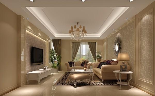 明亮的客厅,没有过多的装饰,是平时朋友聚会的好地方