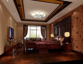 金色漫香苑 高度国际 三居 白领 80后 中式 白富美 高富帅 时尚 卧室图片来自北京高度国际装饰设计在7万打造金色漫香苑中式风采的分享