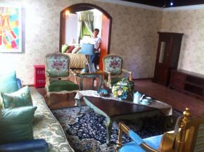 简约 田园 三居 白领 80后 小资 白富美 时尚 高度国际 客厅图片来自北京高度国际装饰设计在清新宜人浪漫三居的分享