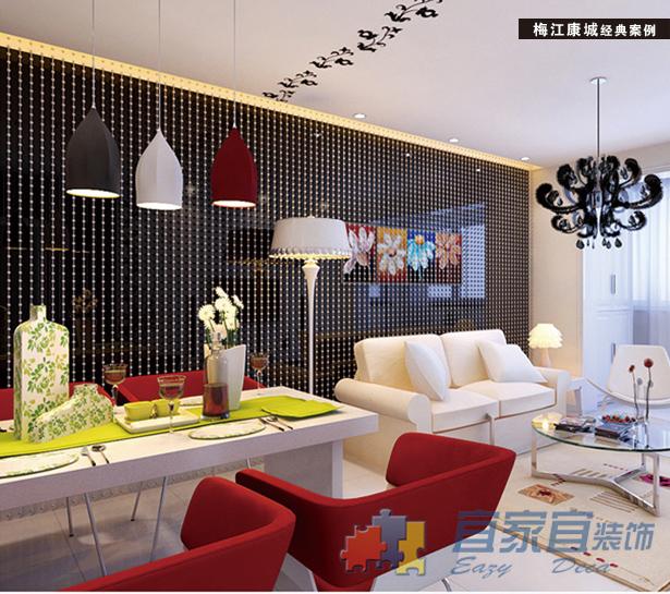 简约 二居 收纳 小资 餐厅图片来自天津宜家宜装饰在梅江康城的分享