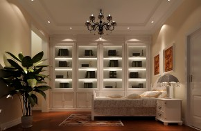 高度国际 托斯卡纳 时尚 美式 简约 别墅 白领 80后 白富美 书房图片来自北京高度国际装饰设计在白河孔雀城250平托斯卡纳别墅的分享