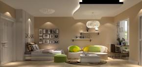 江南山水 高度国际 白领 80后 二居 现代 简约 小资 小清新 卧室图片来自北京高度国际装饰设计在江南山水写意人生经典一居的分享