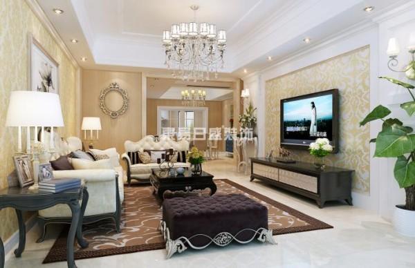 在本设计中,运用黄、白等温暖、自然的色调来表现室内的温馨感觉。门厅与餐厅以线条来丰富墙面,不会显现出单调的感觉,仿佛法式中纯净的爱恋,一切都是干净自然的。