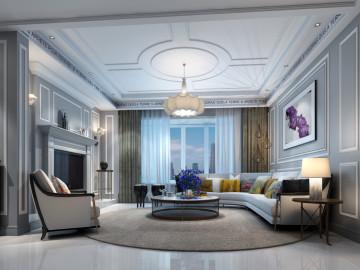 奥邦最新设计案例远中风华园三室