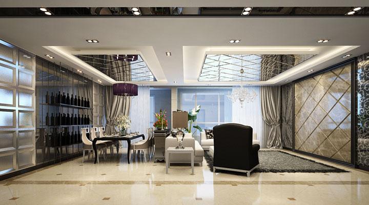 简约 后现代 别墅 装修 设计 报价 广州装修 室内设计 家居 客厅图片来自徐丽娟在简约,达到更舒适的视觉感受。的分享