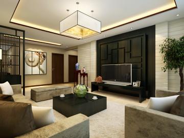 金色梧桐-现代中式-三居室