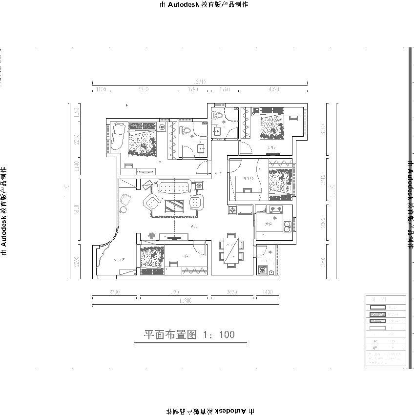 金域上郡 简欧 四居室 业之峰 效果图 户型图图片来自北京业之峰郑州直营店在康桥金域上郡简欧风格设计案例的分享