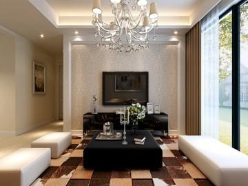 金色假日-现代简约-两居室