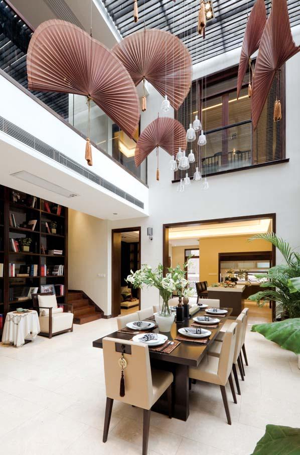 新中式 别墅 厨房图片来自东易力天装饰公司在优雅大气的分享