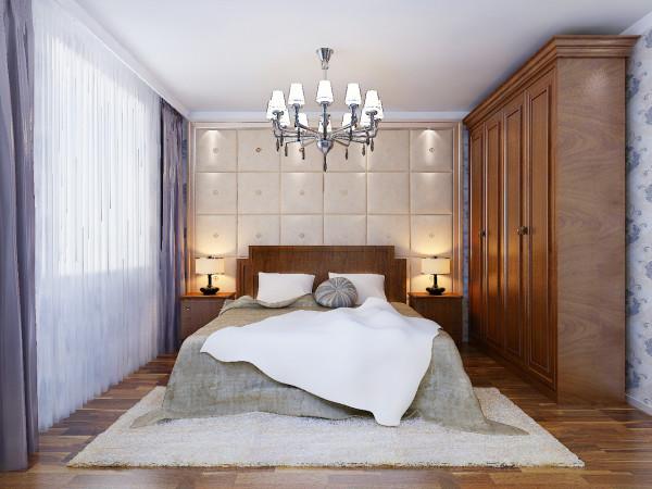 自然的归属民安北郡三居室简约风格装修设计效果图优雅安静的生活品质民安北郡卧室装修效果图