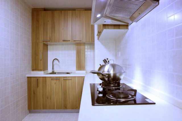 中式 新中式 小三居 80后 小资 厨房图片来自北京实创装饰集团在92平新中式紧凑三居的分享