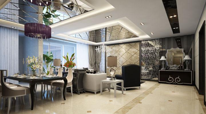简约 后现代 别墅 装修 设计 报价 广州装修 室内设计 家居 餐厅图片来自徐丽娟在简约,达到更舒适的视觉感受。的分享