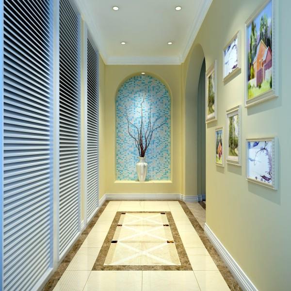 利用原始结构做一个代表性很强的玄关,和衣帽柜,这样是为了使门厅更加的完整,同时也提升了局室的品质