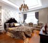 郑州业之峰装饰打造康桥金域上郡190平方四居室简欧风格装修案例展示