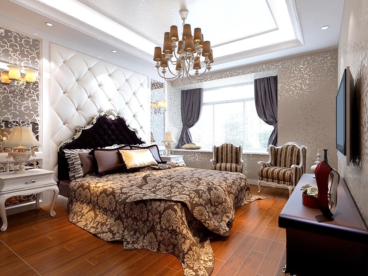 金域上郡 简欧 四居室 业之峰 效果图 卧室图片来自北京业之峰郑州直营店在康桥金域上郡简欧风格设计案例的分享