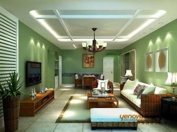 西吴御龙庭绿色健康的家居装修