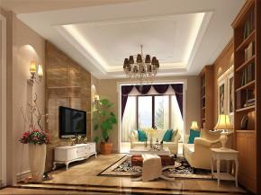 简约 欧式 别墅 白领 80后 白富美 高富帅 时尚 高度国际 客厅图片来自北京高度国际装饰设计在15万打造红杉溪谷浪漫奢华别墅的分享