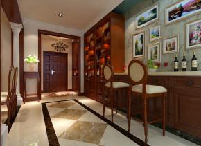 欧式 别墅 奢华 舒适 实创装饰 玄关图片来自武汉实创装饰在浪漫舒适的别墅生活尽显欧式奢华的分享