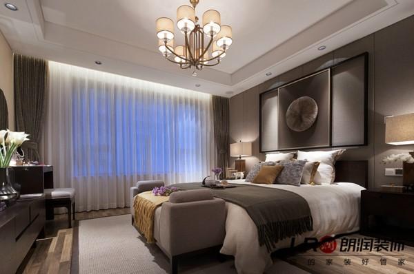 卧室细节展示,配上灯光软饰,温暖舒适的休息空间!