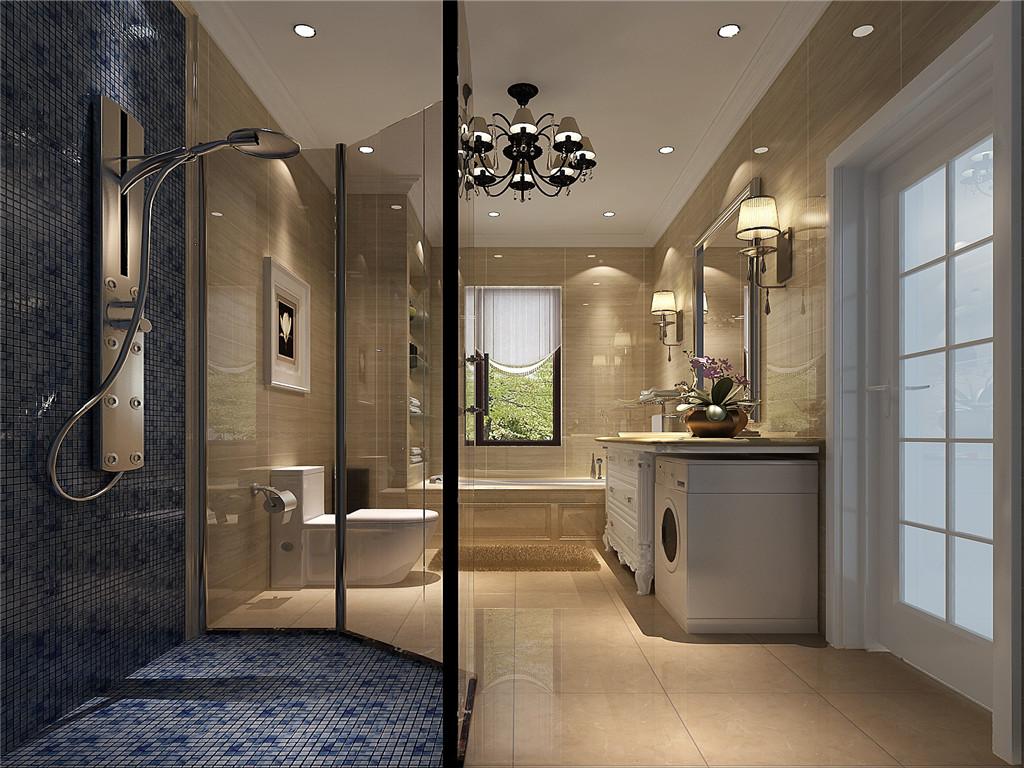 简约 欧式 别墅 白领 80后 白富美 高富帅 时尚 高度国际 卫生间图片来自北京高度国际装饰设计在15万打造红杉溪谷浪漫奢华别墅的分享