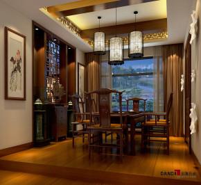 别墅 中式 别墅装修 中式别墅 熙龙湾别墅 高富帅 其他图片来自名雕丹迪在熙龙湾360平新中式别墅的分享