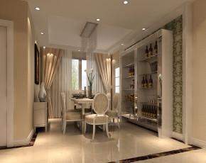简约 欧式 高富帅 白富美 别墅 三居 旧房改造 80后 小资 餐厅图片来自周楠在简约欧式风格【8万】的分享