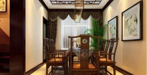 武汉实创 复地东湖国 中式 复式 高富帅 餐厅图片来自静夜思在复地东湖国际中式复式楼的分享