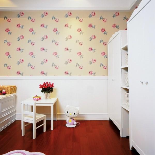 北京七九八零设计工作室,浪漫美式设计,旧房改造,卧室设计