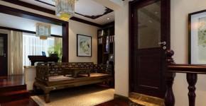 武汉实创 复地东湖国 中式 复式 高富帅 书房图片来自静夜思在复地东湖国际中式复式楼的分享
