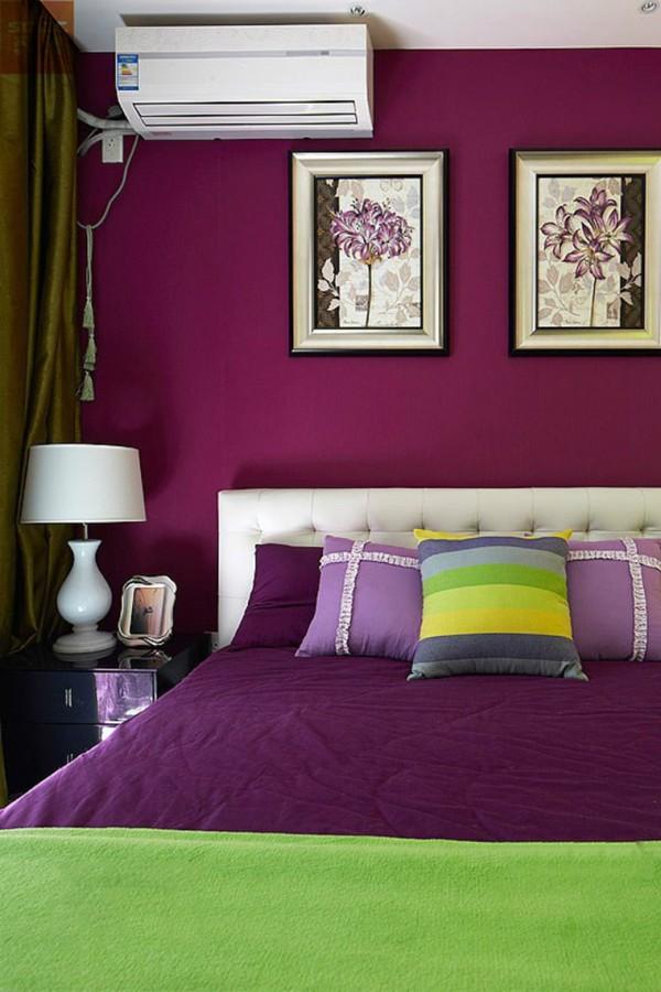 汇君城装修-84.5平二居室装修设计-卧室效果图