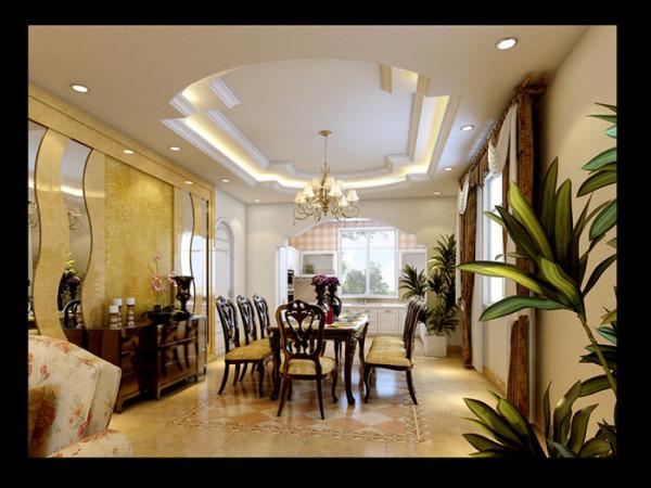 二层大部分为卧室空间,空间里都以壁纸作为最主要的装饰材料