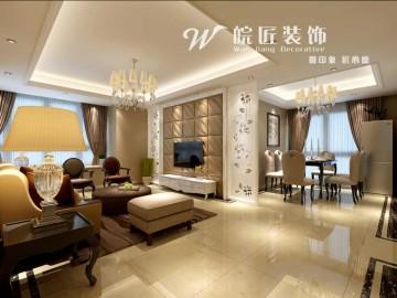 信达西山银杏-现代简约-两居室