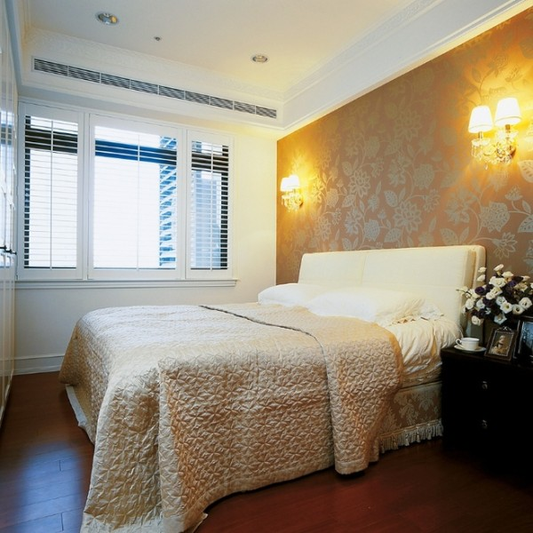 北京七九八零设计工作室,浪漫美式设计,旧房改造,美式设计,卧室设计