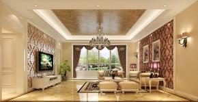 简约 欧式 高度国际 时尚 现代 小清新 三居 白领 80后 客厅图片来自北京高度国际装饰设计在K2百合湾童话王国的分享