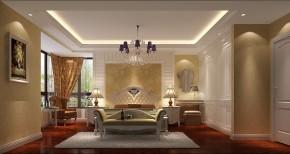 简约 欧式 高度国际 时尚 现代 小清新 三居 白领 80后 卧室图片来自北京高度国际装饰设计在K2百合湾童话王国的分享