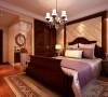 卧室温馨典雅的卧室设计理念:卧室的布置较为温馨,其主人的私密空间,主要是以功能性和舒适性为设计重点。木质家具显示出古典的韵味。在色彩搭配上,采用了暖色调,进而和淡雅的墙面相呼应。