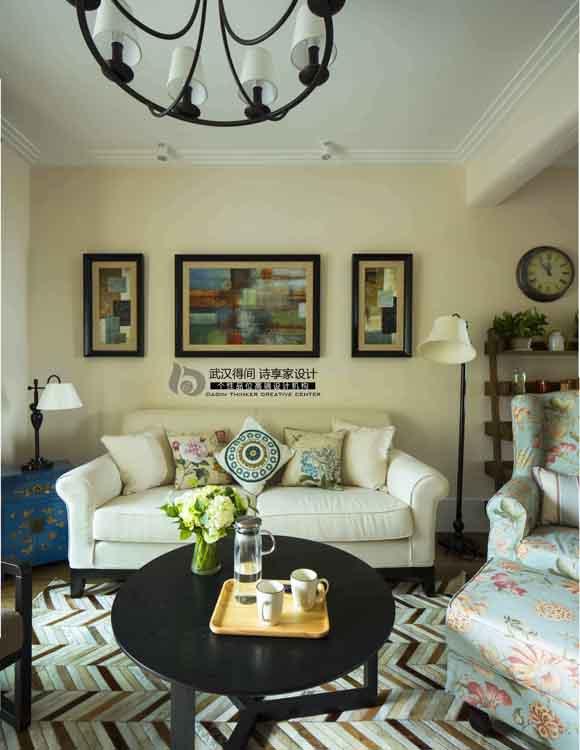 客厅图片来自得间诗享家设计在初·遇的分享