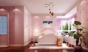 现代 高度国际 时尚 三居 白领 80后 简约 白富美 小清新 儿童房图片来自北京高度国际装饰设计在廊桥水岸现代风情的分享
