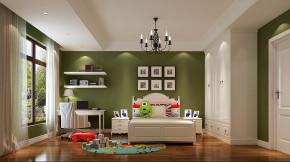 简约 美式 高度国际 时尚 公寓 白领 80后 白富美 温馨 儿童房图片来自北京高度国际装饰设计在果岭Class美式简约幸福之家的分享
