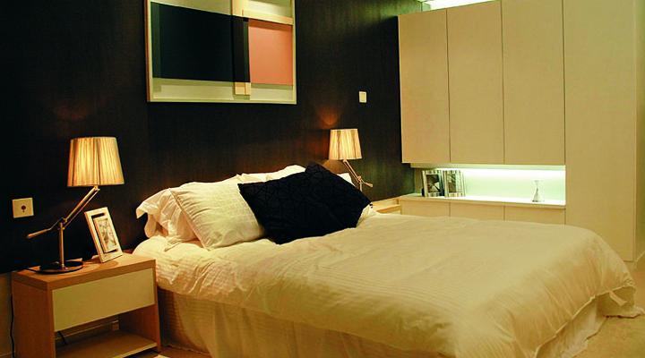 武汉实创 幸福时代 简约 三居 文艺青年 卧室图片来自静夜思在幸福时代/温暖的色调的分享