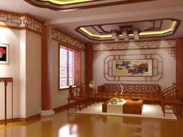 现代中式 别墅